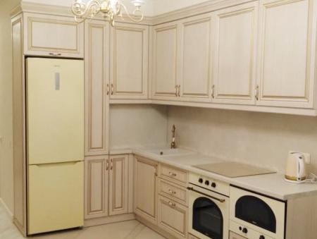 Кухонный гарнитур Сандал белый