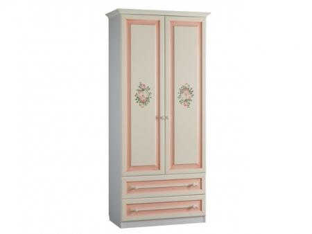 Алиса Шкаф 2-створчатый с ящиками