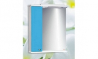 Шкаф Блик 60 голубой