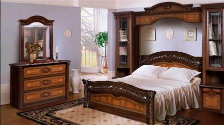 Карниз декоративный для спальни Карина 2