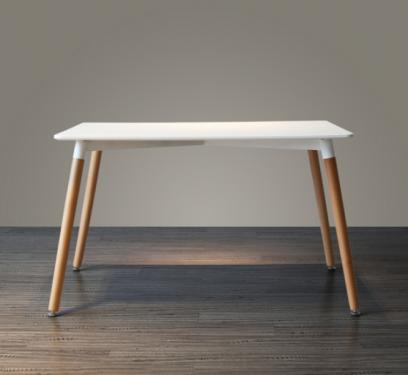 Стол ST-005 белый, прямоугольный
